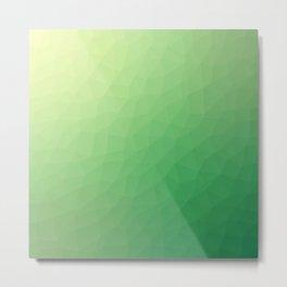 Green flakes. Copos verdes. Flocons verts. Grüne Flocken. Зеленые хлопья. Metal Print