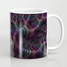 Branching Rainbow Fractal Coffee Mug