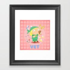 Vet Framed Art Print