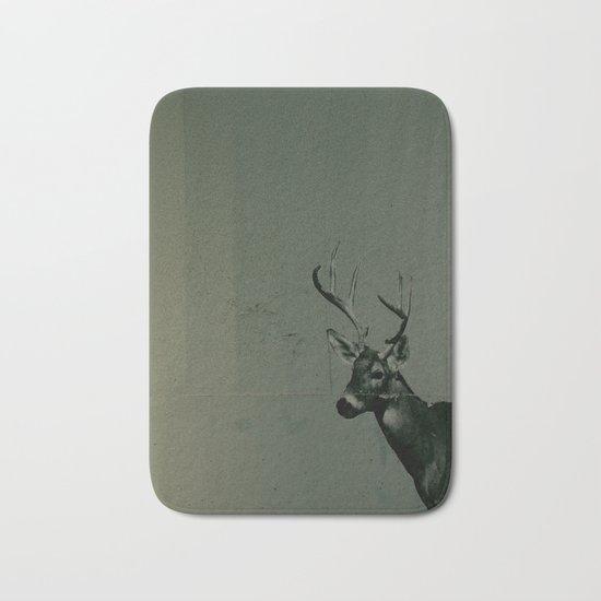 urban deer Bath Mat