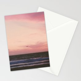 Beachy Birdy Sunset Stationery Cards