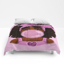 Fresh Bubble Gum Comforters