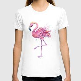 Fancy Pink Flamingo T-shirt