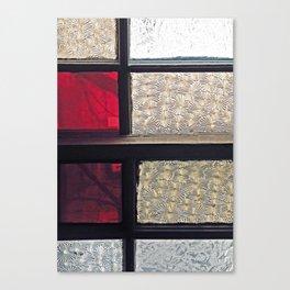 Window Glass Canvas Print
