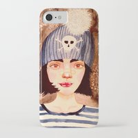 snowflake iPhone & iPod Cases featuring snowflake by TatumFlynn