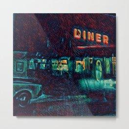 Diner time Metal Print