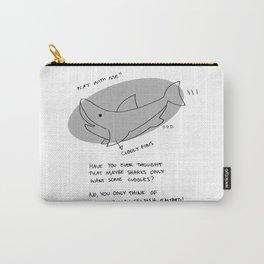 misunderstood shark Carry-All Pouch