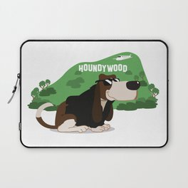 Hollywood Basset Hound Laptop Sleeve