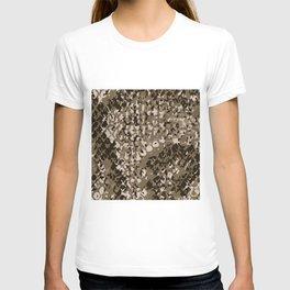 Earth Stone Snake Skin Pattern Reptile Snakes Gift T-shirt