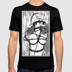 asc 648 - Les liens occultes (Tied up by a long distance relationship) LARGE Black Mens Fitted Tee
