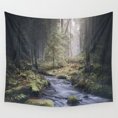 Silent whispers Wall Tapestry