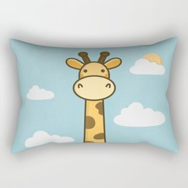 Kawaii Cute Giraffe Rectangular Pillow