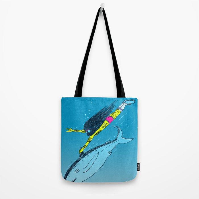 Shark Yeah Tote Bag