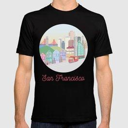 San Francisco City Art T-shirt