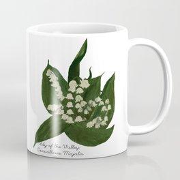 Lily of the Valley: Convalleria Majalis Coffee Mug