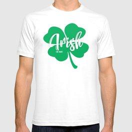 Irish or Nah Funny St. Patrick's Day Shirt T-shirt