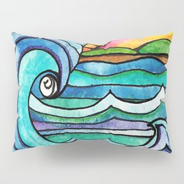Beachy #society6 #spring #summer Pillow Sham