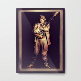SRV - Portrait - Graphic One Metal Print