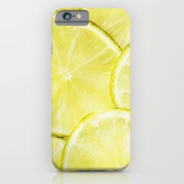 Lime Slices iPhone Case