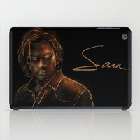 winchester iPad Cases featuring Sam Winchester by Sarah Sangelus