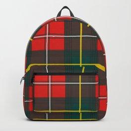 Minimalist Boyd Tartan Modern Backpack