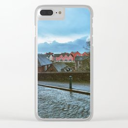 Exeter Quay Clear iPhone Case