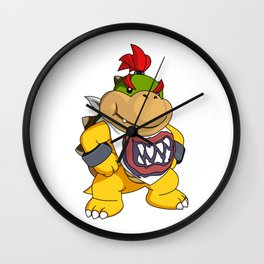 Bowser Jr. Wall Clock