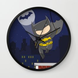 Bat man Wall Clock