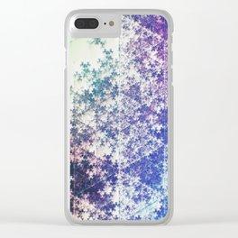 Flake Clear iPhone Case
