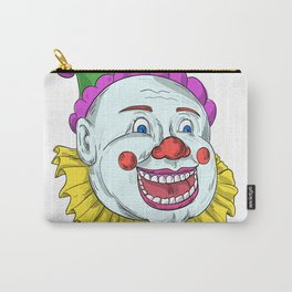 Vintage Circus Clown Smiling Drawing Carry-All Pouch