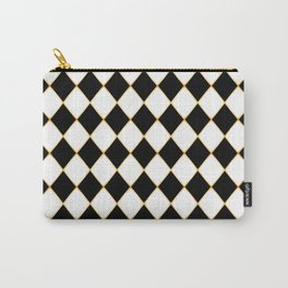 Chess board with golden threads Carry-All Pouch