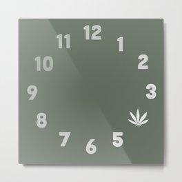 4:20 Metal Print