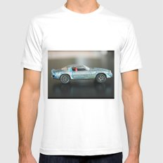 Toy Car Mens Fitted Tee MEDIUM White