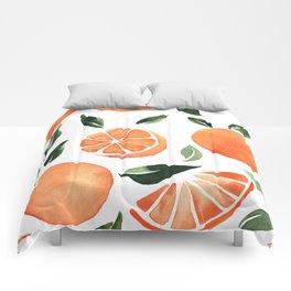 Summer oranges Comforters