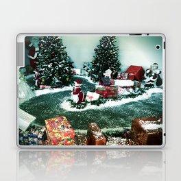 Santas Helpers In The Christmas Display Laptop & iPad Skin