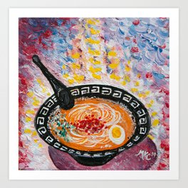 The Ramen Experience - by MylesKatherine Art Print