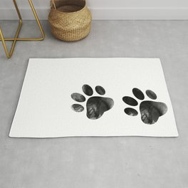 Cat's footprints Rug