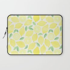Summer Lemons Laptop Sleeve