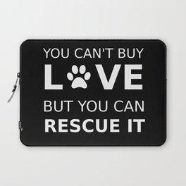Animal rescue love Laptop Sleeve