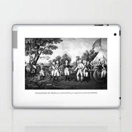 The Surrender of General Burgoyne Laptop & iPad Skin