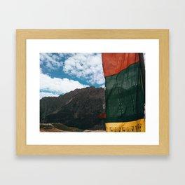 Rohtang Pass Framed Art Print