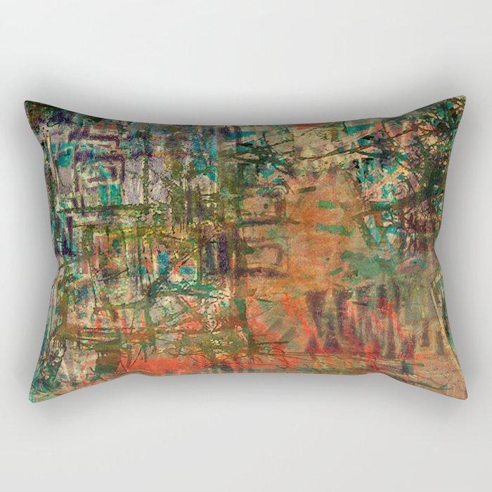 Pointless Conflict Rectangular Pillow