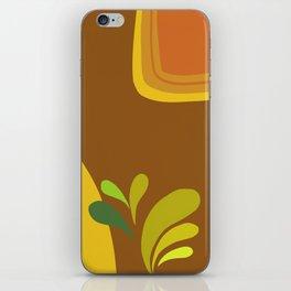 retro pattern iPhone Skin