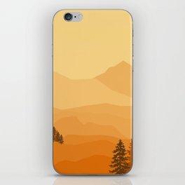 DREAMY SUNSET iPhone Skin
