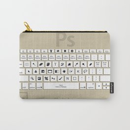 Photoshop Keyboard Shortcuts Brwn  Carry-All Pouch