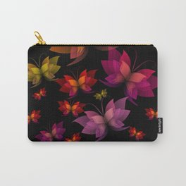 Digital Butterflies Carry-All Pouch
