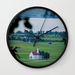 Little church Wall Clock