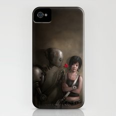 Robot In Love iPhone (4, 4s) Slim Case