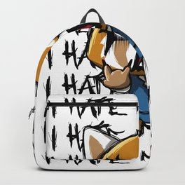 I hate the mondays Backpack