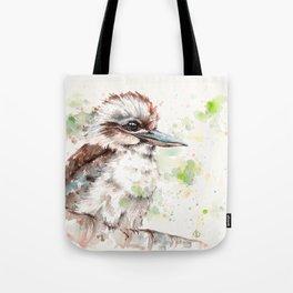 A Kookaburras Gaze Tote Bag